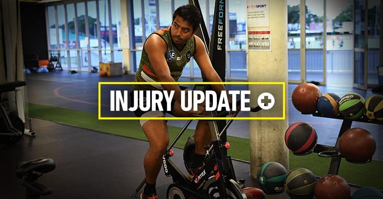 Shannon Rioli is still on the injury list