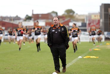Andrew Hodges at a VFLW game