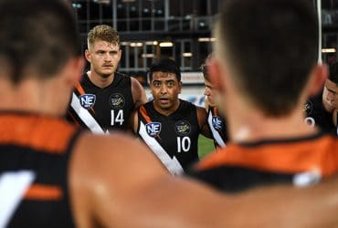 Shannon Rioli directs his team