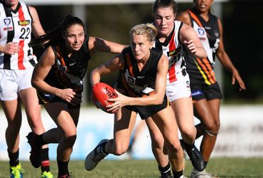 Katie Streader was a standout for Thunder in Round 2