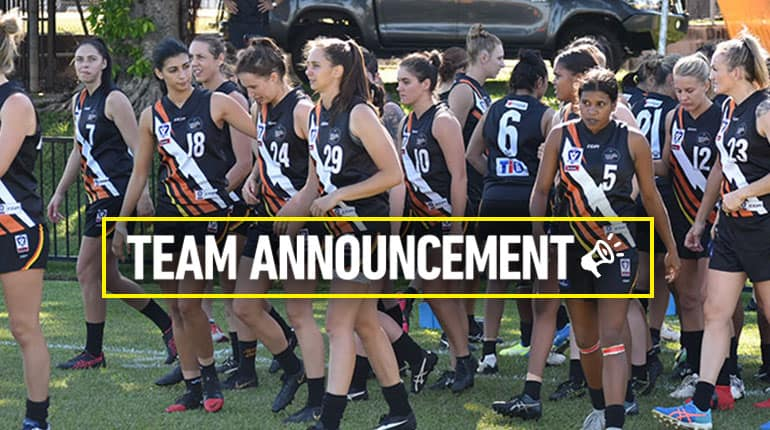 VFLW Team Announcement Rd 1