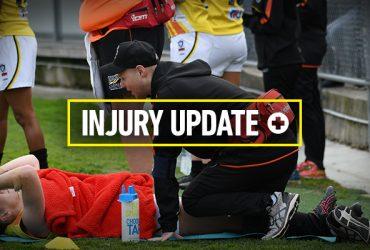 Injury update