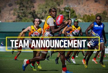 Round 17 team announcement Woods