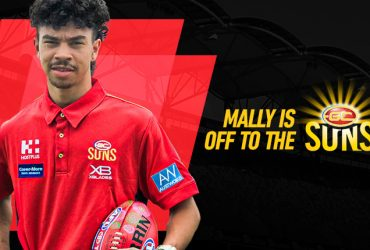 Gold Coast SUNS newest player, Mally Rosas